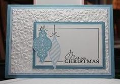 christmas card ideas handmade embossed - Google Search