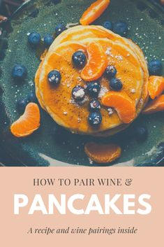 Wine tools and recipes with wine pairings. You'll love our recipes with wine pairings, our wine tracking app and our wine dinner cooking show. Vegan Recipes Easy, Wine Recipes, Vegan Protein Pancakes, High Fiber Breakfast, How To Make Waffles, Pancake Toppings, White Wines, Ground Beef Recipes, Berry