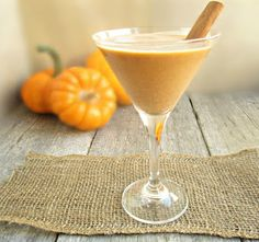 Pumpkin Martini....for Halloween...or Fall...or because you don't have enough pumpkin throughout the year