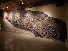 Barbara Wisnoski Large Textile Piece