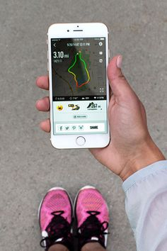 Focus on the finish. Track and target your running goals with the Nike+ Running app.