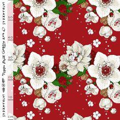 Sydäntalvi by Satu Kontinen for Nuppu Print Company Printing Companies, Printing On Fabric, Organic Cotton, Kids Outfits, Cool Stuff, Red, Print Fabrics, Clothes, Sewing