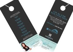 Real Estate Door Hanger Template  Real Estate Hanger And Doors