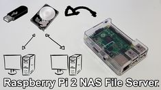 Low End Tech - Raspberry Pi 2 NAS File Server with Webmin - YouTube