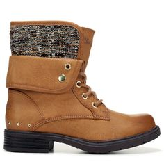 Kids Skechers Truffles Lace Up Boot PreGrade School Cognac
