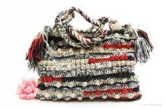Geanta crosetata de SalmaDa Breslo Purses And Bags, Accessories, Fashion, Moda, Fashion Styles, Fashion Illustrations, Jewelry Accessories