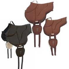 The Barefoot Ride-On Bareback Pads are designed by Barefoot treeless saddles. The pads are shaped to accommodate the horse's spine, and offer ideal pressure absorption and distribution for long bareback trail rides, heavier riders and round horses. Equestrian Boots, Hunting Boots, Equestrian Outfits, Equestrian Style, Horse Gear, Horse Tack, Treeless Saddle, Round Pen, Saddles