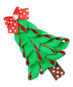 Look what I found on #zulily! Christmas Tree Hair Clip #zulilyfinds