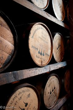 Woodford Reserve - Lexington, KY Visit to Lex. Woodford Reserve is a brand of premium small batch Kentucky Straight Bourbon Whiskey produced by the Brown-Forman Corporation. It is distilled at the company's Woodford Reserve Distillery, and marketed under the former company name for the distillery, Labrot & Graham. The distillery is located in Woodford County, in central Kentucky. Formerly known as Labrot & Graham's Old Oscar Pepper Distillery.