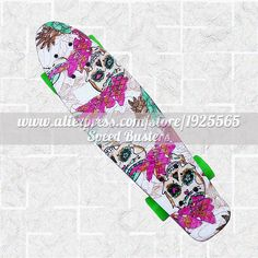 2016 New Multicolor peny board skateboards Complete Retro elektroscooter Mini Longboard Skate Fish Skateboard Free Shipping