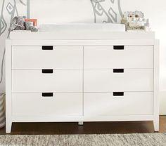 Tatum Extra Wide Dresser & Topper Set #pbkids