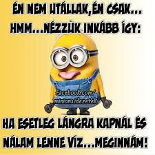 "Képtalálat a következőre: ""minions idézetek"" Really Funny, Funny Cute, Bad Memes, Sarcastic Quotes, Funny Moments, Funny Photos, Sarcasm, Minions, Funny Jokes"