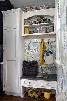See more project details for Whitefish Bay Kitchen Remodel by Advantage Carpentry & Remodeling, LLC including photos, cost and more. Entry Closet, Front Closet, Home And Deco, Small Storage, Best Interior Design, Whitefish Bay, Mudroom, Home Organization, Small Spaces