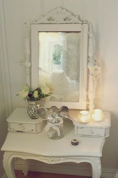 pretty dressing table....Beauty is my passion....  http://aprioribeauty.com/IC/KathysDaySpa  www.facebook.com/pages/Professional-Skincare-My-New-Passion/513031122073392