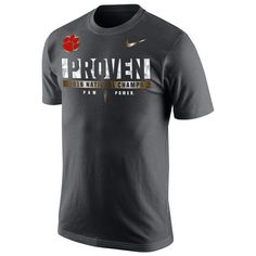 Hot new product: Clemson Tigers Ni... Buy it now! http://www.757sc.com/products/clemson-tigers-nike-college-football-playoff-2016-national-champions-locker-room-t-shirt-anthracite?utm_campaign=social_autopilot&utm_source=pin&utm_medium=pin