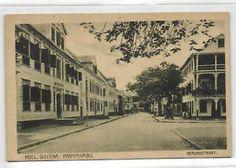 Suriname-Dutch-Guyana-PARAMARIBO-Gravenstraat-1920s