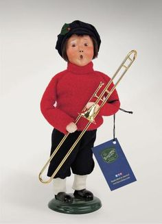 Salvation Army Boy with Trombone