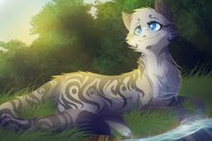 Cinderfrost, a sweet she-cat with a outgoing spirit and a big heart. She is very pretty and most toms like her. Apprentice: none. Mate: none. Kits: none. ~Open~