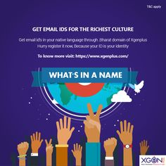 Email Id, Get Email, Digital India, Identity, Language, How To Apply, Languages, Personal Identity, Language Arts