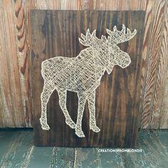 Orignal String Art signe fait sur commande par CreationsFromBlondie