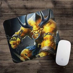 Golden Alistar Mousepad League of Legends mouse pad LoL gamer playmat #UnbrandedGeneric