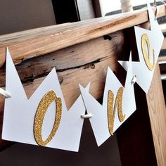Wild One Birthday Highchair Banner. Handcrafted in Business Days. One Highchair Banner. Baby Boy 1st Birthday Party, Gold Birthday Party, First Birthday Parties, Birthday Party Themes, 1st Birthday Party Ideas For Boys, First Birthday Decorations, First Birthday Banners, Birthday Highchair Decorations, Christmas Decorations