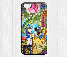 Beauty and the Beast iPhone 5 Case,Flowers Rose iPhone 5 5s Hard Case,cover skin case for iphone 5/5s case,More styles for you choose
