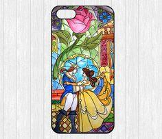Beauty and the Beast iPhone 5 CaseFlowers Rose iPhone por ihomegift, $6.99