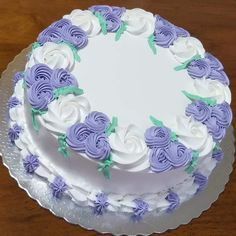 Cake Decorating Frosting, Cake Decorating Designs, Creative Cake Decorating, Cake Decorating Videos, Birthday Cake Decorating, Cake Decorating Techniques, Creative Cakes, Dairy Queen Cake, Simple Cake Designs