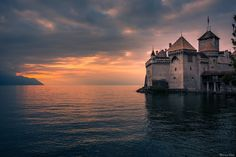 Chillon castle by Bruno Paci on 500px