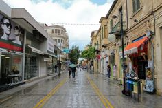 Cyprus - Ledra Street in Nicosia Nicosia Cyprus, Limassol, Places Ive Been, Cities, Street View, Island, Mountains, Country, Travel