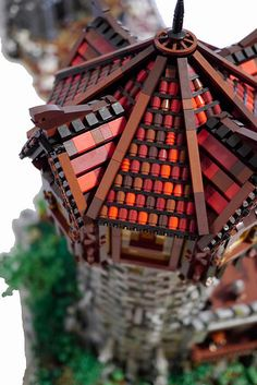 Bridge of Lost Souls for Brickvention 2015 by Nick Runia a.k.a. Brickfiend