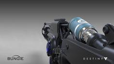 Destiny - The Taken King : Omolon Rifle, Matt Lichy on ArtStation at https://www.artstation.com/artwork/destiny-the-taken-king-omolon-rifle