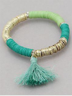 Turquoise Bojo Bracelet / LiaBella Jewelry