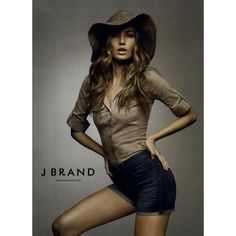 J Brand Jeans Ad Campaign Spring/Summer 2011 Shot #10 ❤ liked on Polyvore