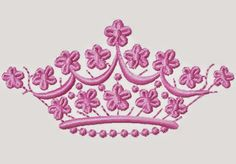 download Crown design machine embroidery ~ download free design embroidery