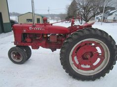 Farmall H Tractor - ONLINE ONLY AUCTION - Ending March 03, 2015. Dallas, Wisconsin.