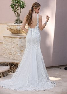 Image showing back view of style #50359