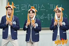 Chanyeol, Chen, Kai - 181225 JTBC Knowing Brothers website update Kyungsoo, Kaisoo, Exo Chanyeol, Exo Variety Shows, Exo 2014, Exo Couple, Xiuchen, Kim Junmyeon, Kpop Guys
