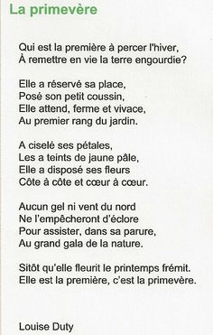 numérisation0839 Texte En Prose, French Language Lessons, How To Speak French, Paradis, Dire, Poetry, Spring, Quotes, Inspiration
