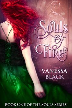 Beautiful book cover Souls of Fire by Vanessa Black