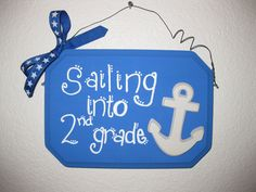 Classroom Themed Signs by