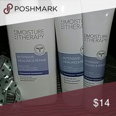 Moisture Therapy Intensive healing and repair for extra dry skin. Lotion 16.9 FL oz Body wash 8.4 FL oz  Hand cream 4.2 FL oz Avon  Other