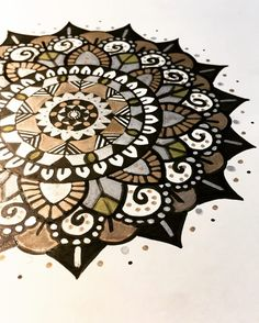 metallics #art #artist #draw #drawing #mandala #surfacedesign #henna #zen #zentangle #itsallokvibes #vibes #goodvibes #ink #inkdrawing #sketch #pendrawing #tattoo #inked #love #micron #hennatattoo #blackink #flower #flowers #zendoodle #artlover #surfacepro #digitalart #bohemian #mandalatattoos