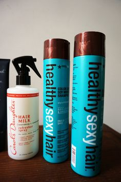 Makeup Monday: Current Hair Faves // Living Proof PHD // Carol's Daughter // Health Sexy Hair