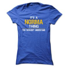 It is a NORMA thing. You wouldnt understand - Tshirt and Hoodie,  NORMAs Tshirt