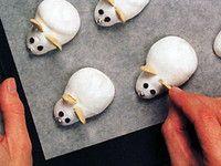 Sněhové myšky přeji veselé Vánoce Christmas, Food, Xmas, Essen, Navidad, Meals, Noel, Natal, Yemek