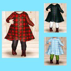 【Apparel】Girl (pf) Long Shirt Dress+leggings