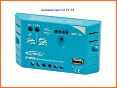 5A PWM Solarladeregler, Laderegler, Solaregler für Systemspannungen von 12V