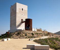 tower restoration by castillo-miras arquitectos in huércal-overa, almería, Spain